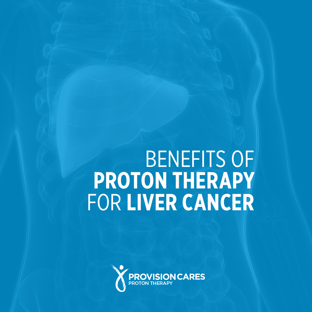 Benefits of proton therapy for liver cancer