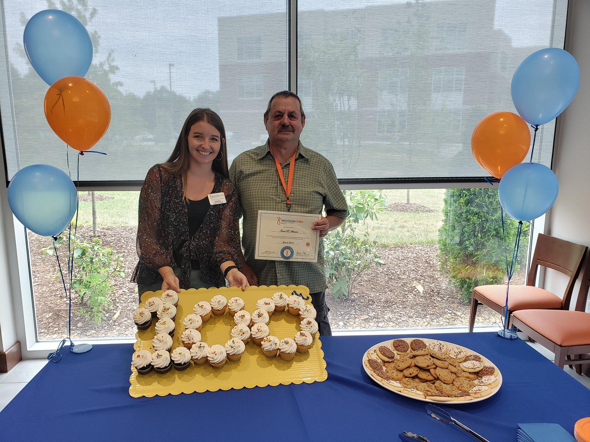Provision CARES Proton Therapy Nashville 100th graduation