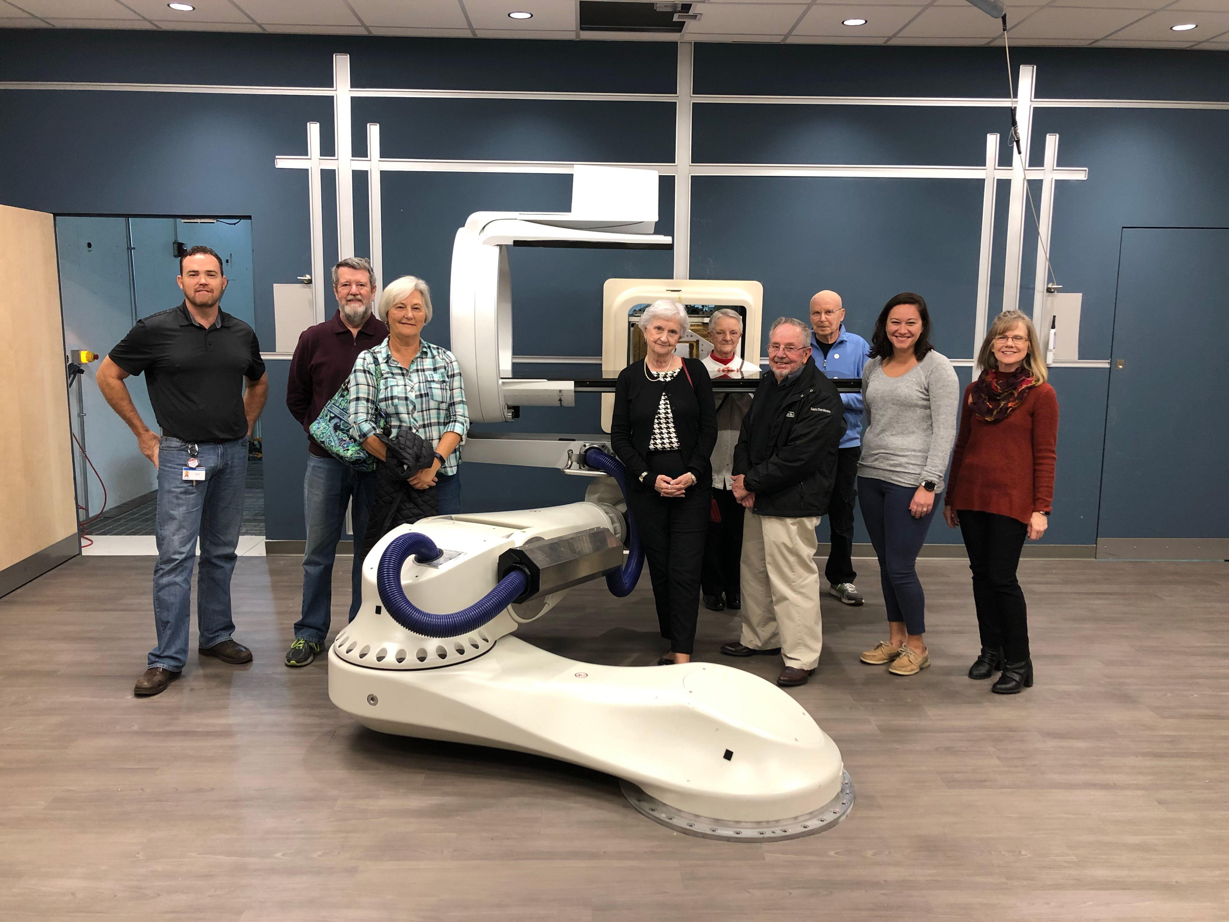 Provision Ambassadors take a tour of Provision CARES Proton Therapy Knoxville