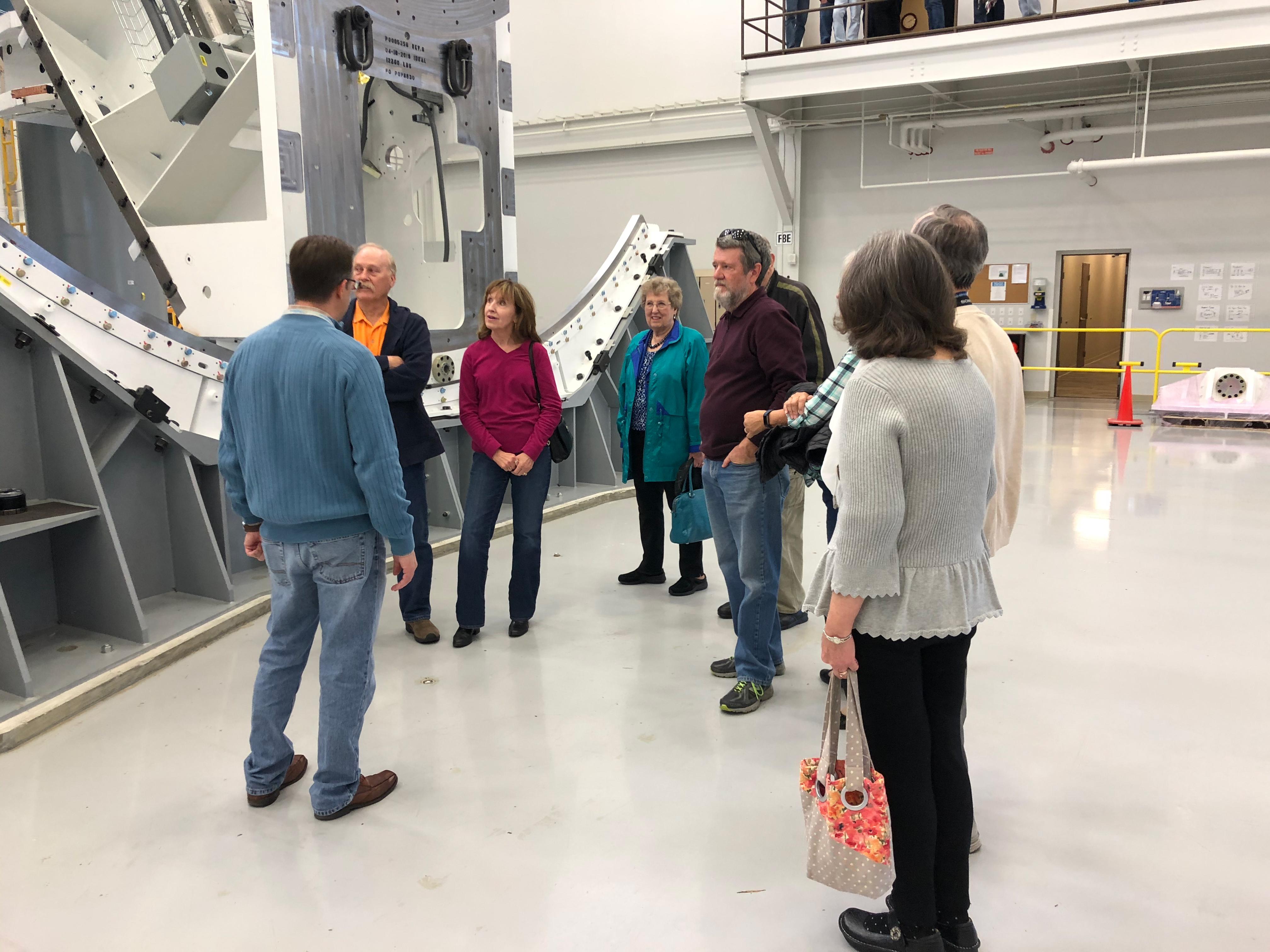 Provision Ambassadors take a tour of ProNova Solutions