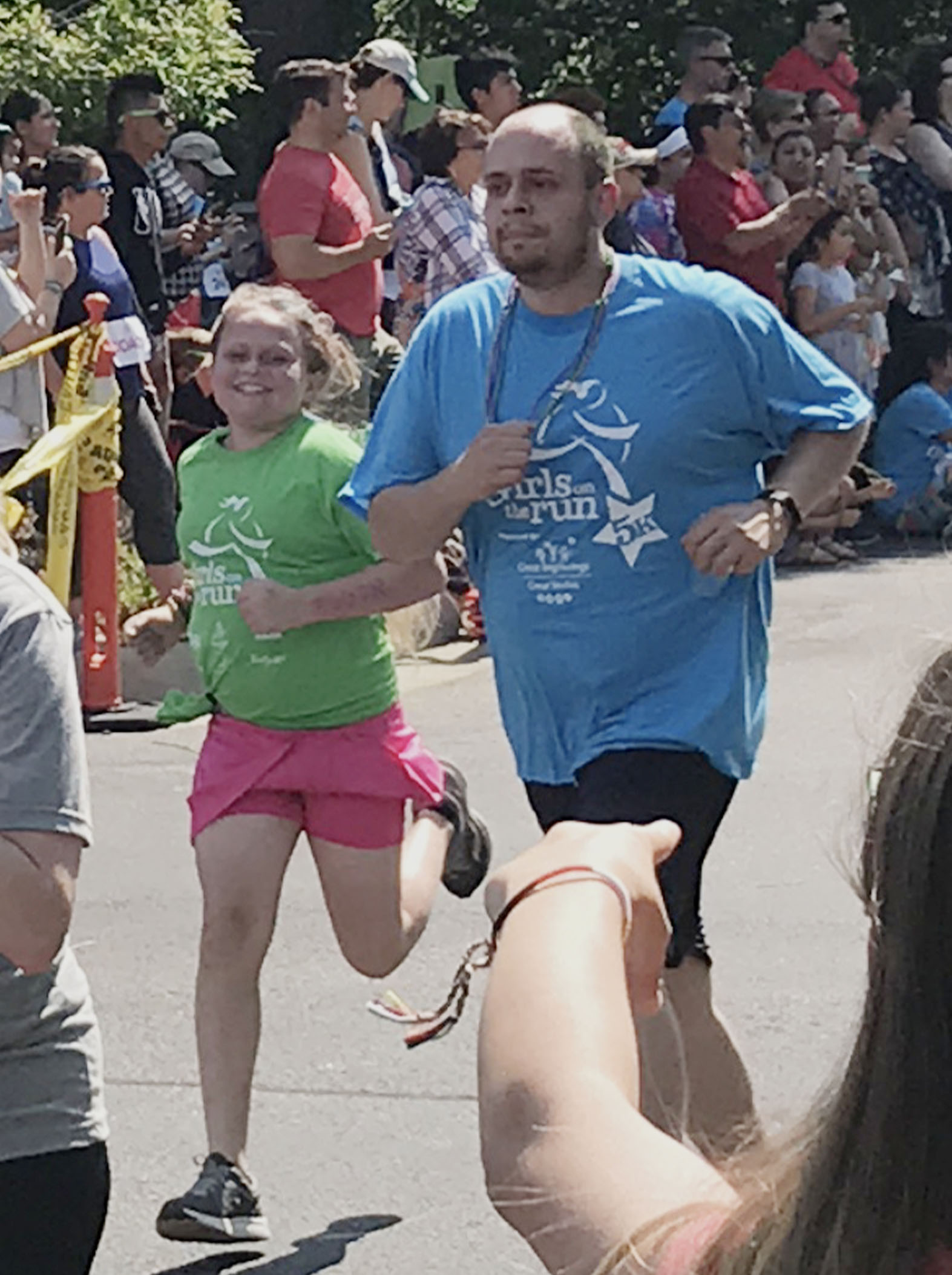 Running a 5K a week after completing proton therapy