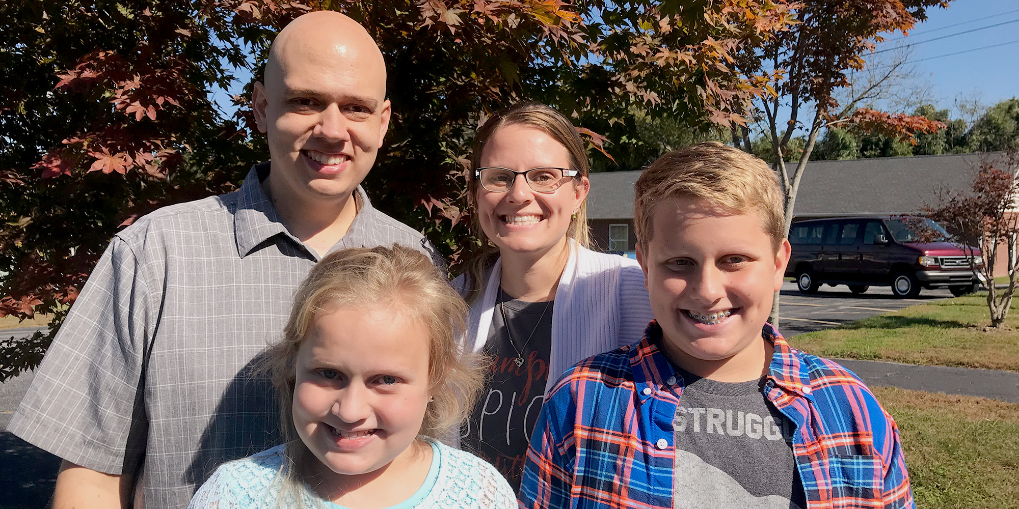 Lymphoma patient Jonathan chose proton therapy so he could have more time with his family