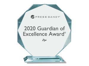 Provision Nashville received the 2020 Guardian of Excellence Award